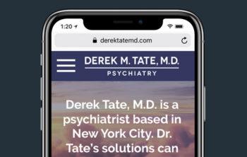 WordPress Psychiatry Site